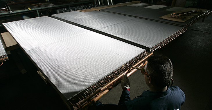 air conditioning coil manufacture