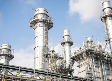 Natural Gas Generation Turbine Plant
